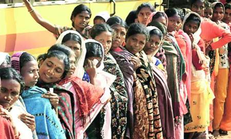 Defying Maoists,Chhattisgarh votes with its feet