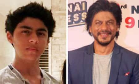 Shah Rukh Khan's eldest son Aryan turns sweet16