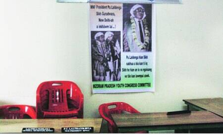 Mizoram polls: The politics of religion is on the wall,inposters