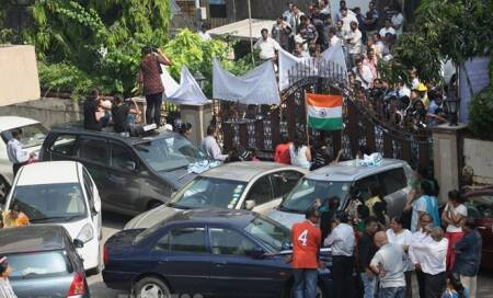 Mumbai: Face-off over demolition at Campa Cola colony continues,residents block entry