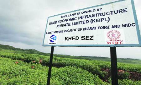 Pune airport to come up at Khed SEZ,418 hectares need to beacquired