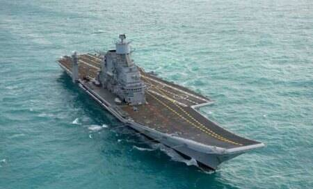 Navy set to get its largest aircraft carriertomorrow