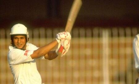 Sachin Tendulkar – A fighter at 16