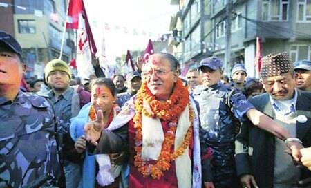 Nepal-Maoists boycott poll as counting half way through