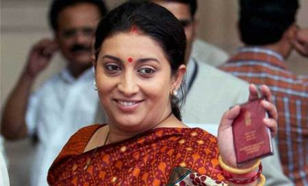 Smriti leads BJP chorus: They can't control onions,how will they control govt
