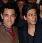 Aamir Khan reacts to Shah Rukh's dig on nude 'PK' poster