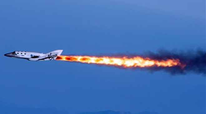 Virgin Galactic's SpaceShipTwo crashes in test flight