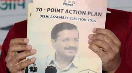 AAP forms panel to deliver 70 promises in manifesto