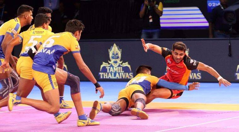 Pro Kabaddi 2017: Marvellous Ajay Kumar guides Bengaluru Bulls to comprehensive win