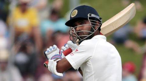 Ajinkya Rahane said he did not know how to express his feeling of elation at getting maiden Test ton (Reuters)