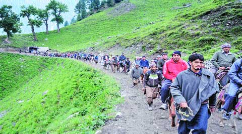 DGP, jammu, says adequate security arrangements have been put in place along the yatra routes for the Amarnath yatra.