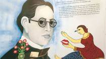 A Delhi University art project draws parallels between folklore and Ambedkar's ideals