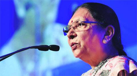Anandiben pitches for adoption of schools