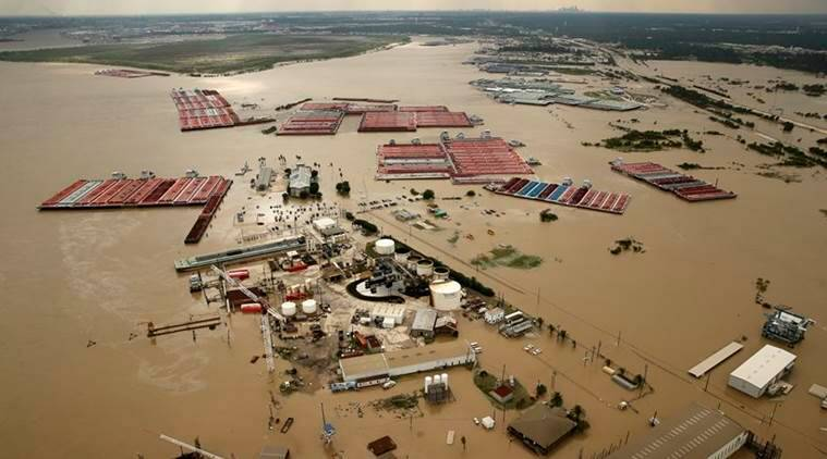 Hurricane Harvey, Harvey funding, Greg Abbott, Texas hurricane, Texas Governor, World news, Indian Express