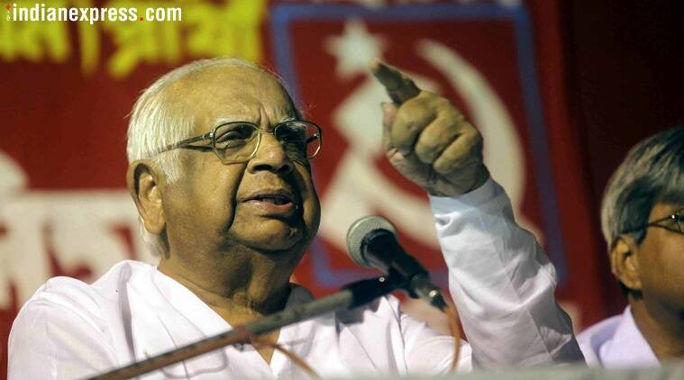 Somnath Chatterjee, former Lok Sabha speaker, Somnath Chatterjee death, Indian Express column