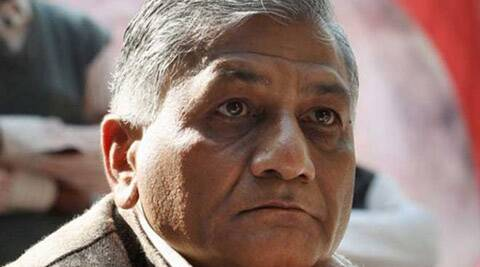 If unit kills innocents, does dacoity and then head of organization tries to protect them, should he not be blamed? Criminals should go free!!- v k singh.