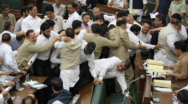 J&K Assembly: A day of drama