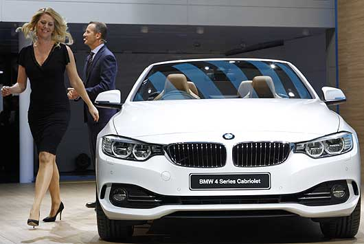 Photos Top Mean Machines Bmw Displays Its 4 Series Cabriolet Bmw