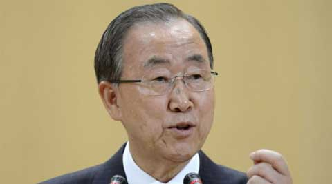Climate change: UN chief Ban Ki-moon welcomes Barack Obama's plan