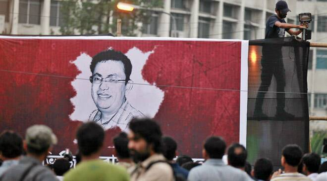 Bangladesh protests blogger Avijit Roy's brutal murder