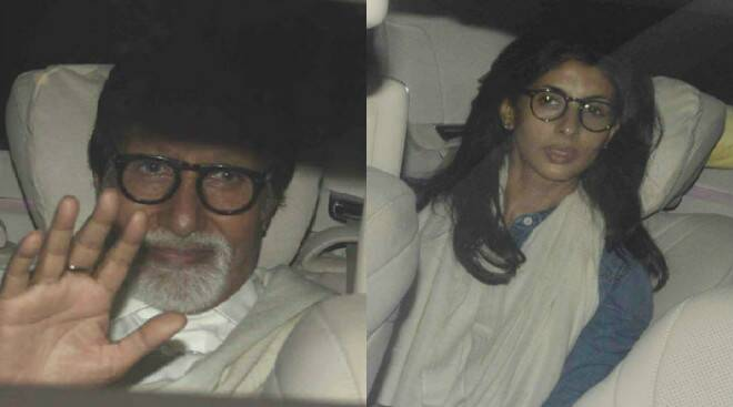 Movie Night: Amitabh Bachchan, daughter Shweta Nanda watch Mani Ratnam's 'O Kadhal Kanmani'