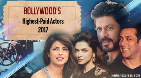 Bollywood's highest paid actors 2017: Deepika Padukone beats Ranveer Singh and Ranbir Kapoor