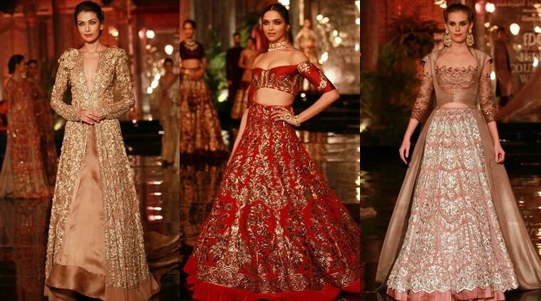 Re-use bridalwear, matte lipstick, bright coloured attire, Fashion news, Indian express news