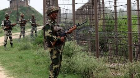 This is second ceasefire violation by Pakistani troops in less than 7 hours and the 8th ceasefire violation in the month of July.