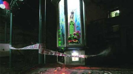 Church vandalized in Mangaluru, no damage done to idols