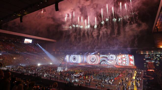 Dazzling opening ceremony kickstarts Glasgow 2014 Commonwealth Games