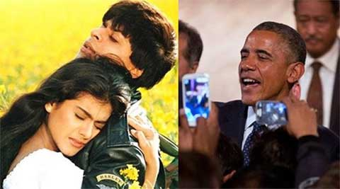 US President Barack Obama quotes SRK's famous 'DDLJ' dialogue