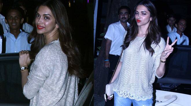 Happy girl Deepika Padukone takes a day off!
