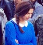 Deepika Padukone shoots for  'Tamasha' in Delhi