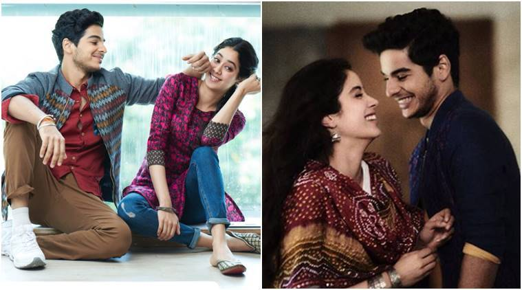 Janhvi Kapoor and Ishaan Khatter in Dhadak.