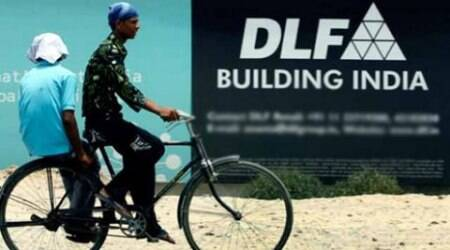 Shares of DLF climb over three per cent