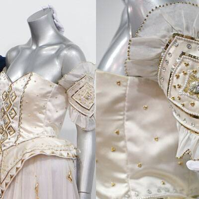 Princess Diana's Emanuel ball gown from the 1986 'Diaghilev' collection