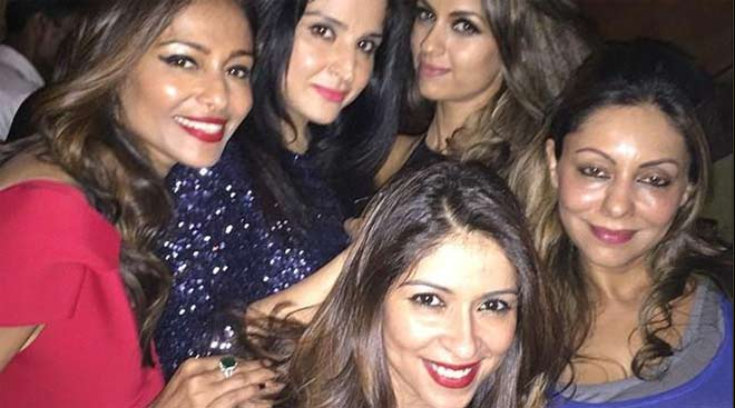 Inside pics of Abhishek's party for cousin Naina Bachchan and Kunal Kapoor