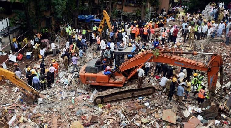 Shiv sena, police custody, Shiv Sena worker, Sunil Shitap, Building collapse, collapse four-story building, death, Mumbai magisterial court, Indian Express News