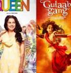 Madhuri, Juhi's 'Gulaab Gang', Kangana's 'Queen' hit screens today