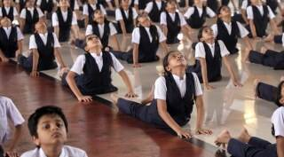 India gears up to celebrate International Yoga Day
