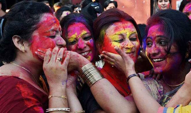 Happy Holi: India celebrates the festival of colour