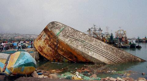 First person: 'Yes, I survived cyclone Hudhud'