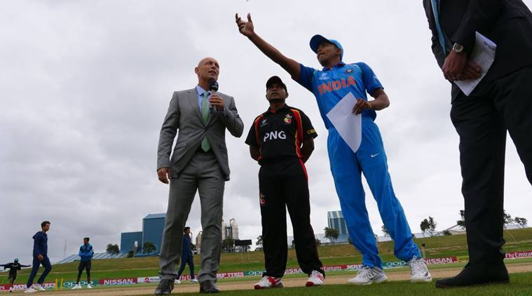 India vs Papua New Guinea, Live Cricket Score, ICC U-19 World Cup: India win toss and choose to fieldfirst