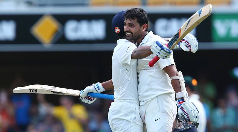 Murali Vijay was the star of the day as the opener scored a brilliant hundred - his fourth against Australia.(Source: AP)