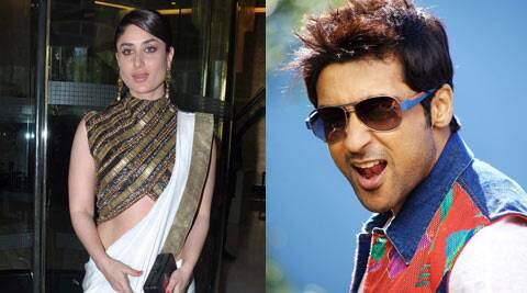 Kareena says she would love to work with Suriya whenever he does a Hindi film.