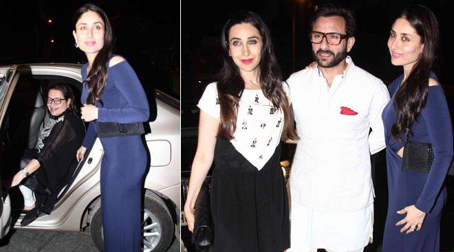 Karisma, Kareena celebrate mom Babita's birthday
