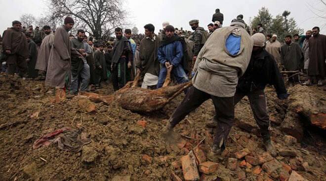 Kashmir floods: Many feared dead, normal life hit in landslide and flashflood