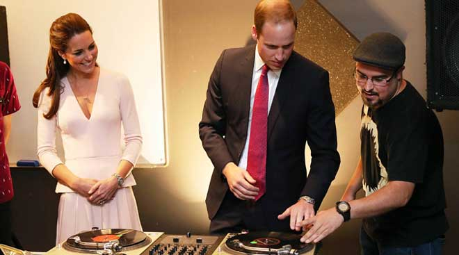 The Royal DJ!