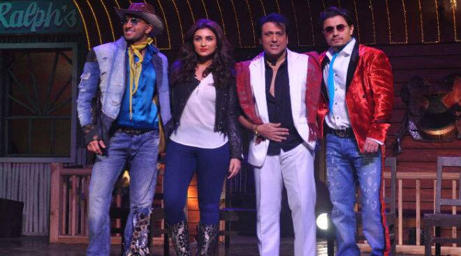 Govinda, Ranveer, Parineeti, Ali kill dils at 'Nakhriley' song launch