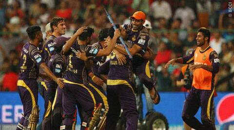 KKR held their nerves to edge past KXIP in the big final in Bangalore on Sunday (Source: BCCI/IPL)